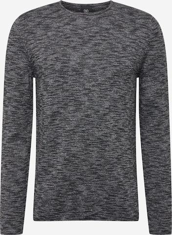STRELLSON Pullover 'Conrad' in Schwarz