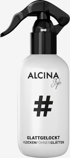 Alcina Stylingspray 'Glattgelockt' in schwarz / weiß, Produktansicht
