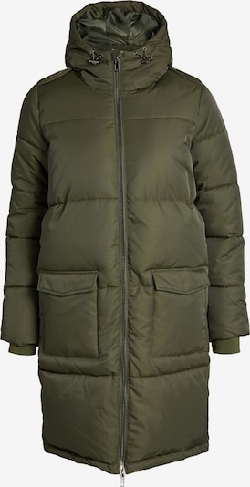 OBJECT Steppmantel 'Hanna' in dunkelgrün, Produktansicht