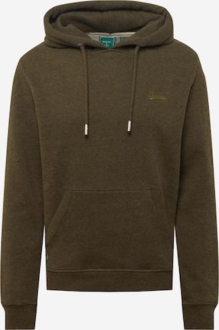 Superdry Sweatshirt in Green