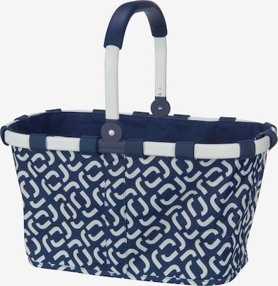 REISENTHEL Einkaufstasche in blau / weiß, Produktansicht