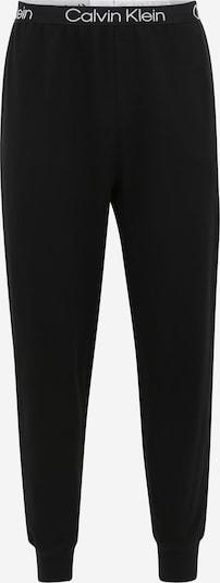 Calvin Klein Underwear Pyjamahose in schwarz / weiß: Frontalansicht