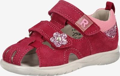 RICHTER Sandalen in blutrot, Produktansicht