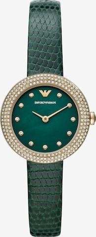 ARMANI Analog Watch in Green