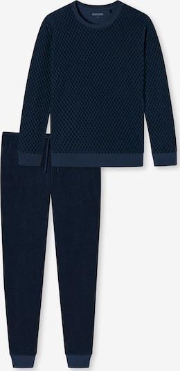 SCHIESSER Pyjama in dunkelblau, Produktansicht