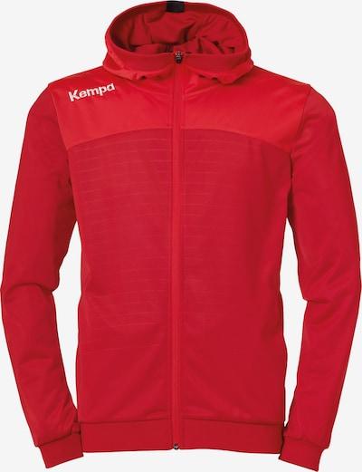KEMPA Trainingsjacke in rot, Produktansicht