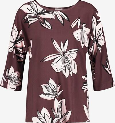 GERRY WEBER T-Shirt in aubergine / rosa / schwarz, Produktansicht