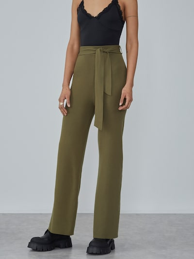 LeGer by Lena Gercke Trousers 'Talea' in Olive, View model