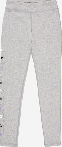 UNDER ARMOUR Sports trousers in Grey