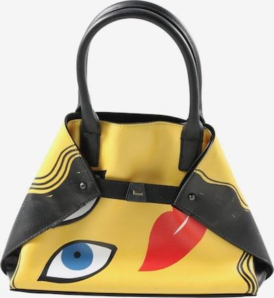 AKRIS Minitasche in One Size in pastellgelb / schwarz, Produktansicht