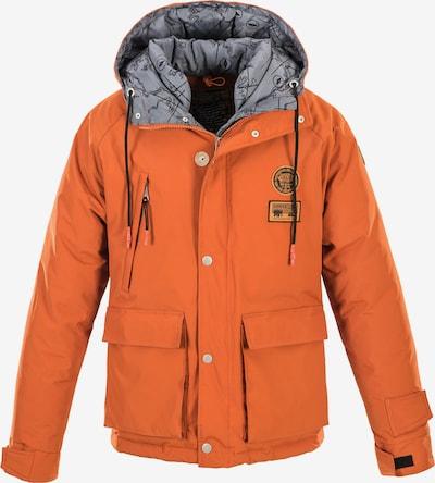 Svalbard Islands Anorak 'NOBILE N1' in orange, Produktansicht