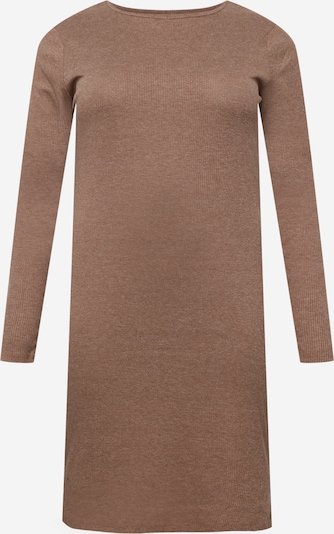 Urban Classics Curvy Kleid in braun, Produktansicht