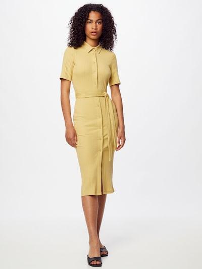 Rochie tip bluză 'TIANA' PIECES pe verde stuf, Vizualizare model