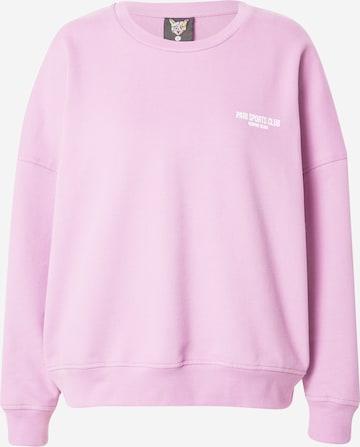 PARI Sweatshirt 'SPORTS CLUB' in Lila