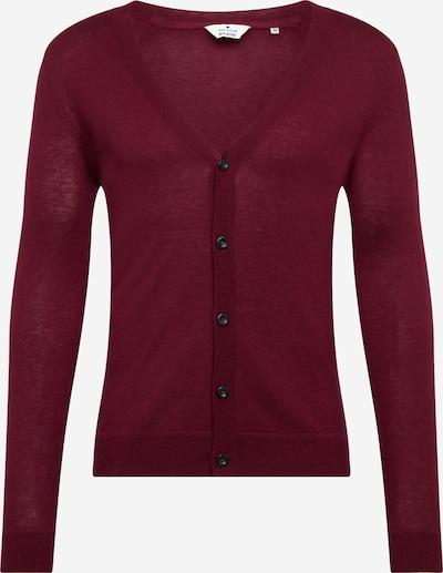 Geacă tricotată TOM TAILOR pe roșu vin, Vizualizare produs