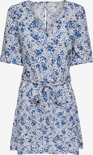 JDY Kleid 'GAIA' in royalblau / orange / weiß, Produktansicht