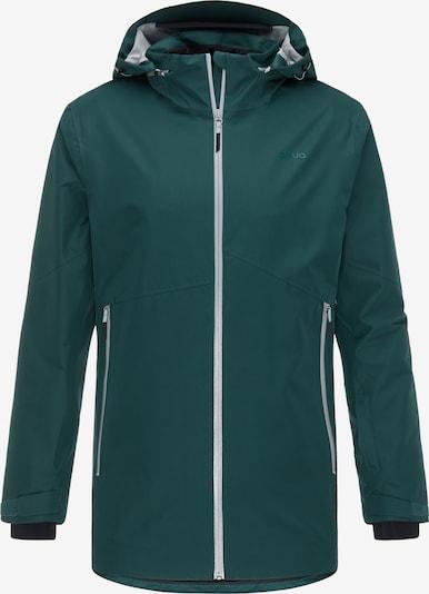 PYUA Sportjas 'Element' in de kleur Donkergroen, Productweergave