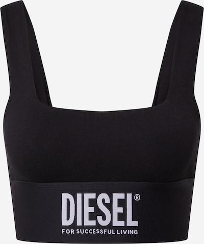 DIESEL BH 'LOUISA' in de kleur Zwart / Wit, Productweergave