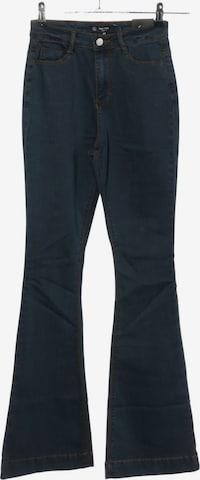 Missguided High Waist Jeans in 27-28 in Blau