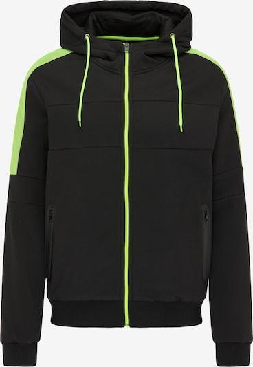Mo SPORTS Tussenjas in de kleur Neongroen / Zwart, Productweergave