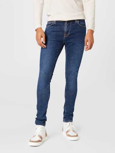 Nudie Jeans Co Jeans 'Tight Terry' in blue denim, Modelansicht