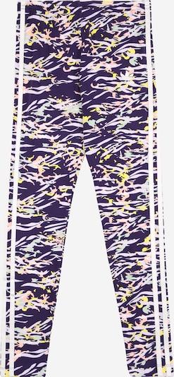 ADIDAS ORIGINALS Leggings in de kleur Donkerlila / Gemengde kleuren: Vooraanzicht