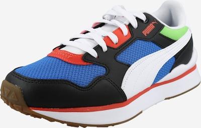 PUMA Sneaker in himmelblau / rot / schwarz / weiß, Produktansicht