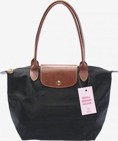 Longchamp Handtasche in One Size in braun / gold / schwarz, Produktansicht