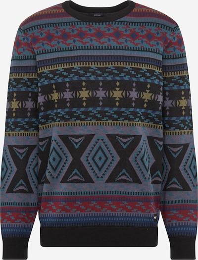 Iriedaily Pullover 'Indio' in dunkelgrau / mischfarben, Produktansicht