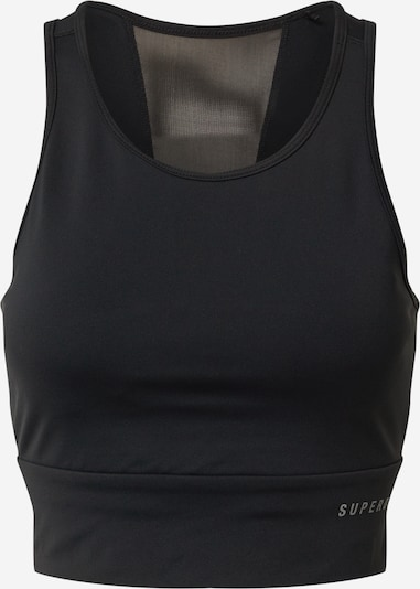 Superdry Športni top | črna barva, Prikaz izdelka