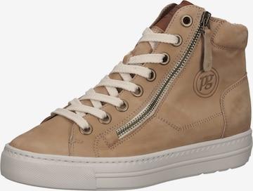 Paul Green High-Top Sneakers in Brown