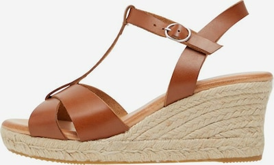 Bianco Strap Sandals in Brown, Item view