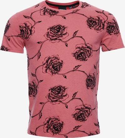 Superdry T-Shirt in blutrot, Produktansicht