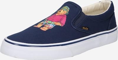 POLO RALPH LAUREN Slip-on obuv 'THOMPSON' - námornícka modrá / zmiešané farby, Produkt