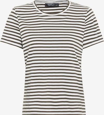 HALLHUBER Shirt in grün / weiß, Produktansicht