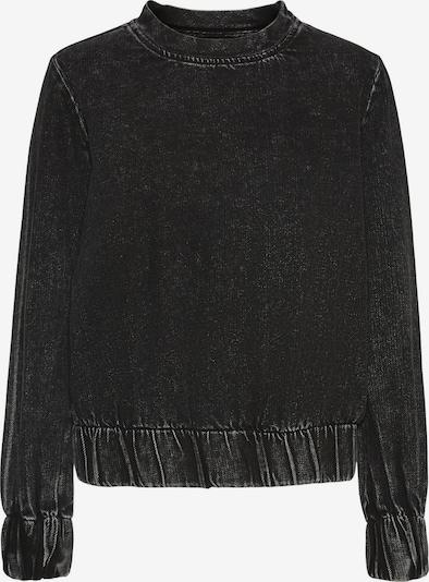 Noisy may Sweatshirt 'Lucca' in schwarzmeliert, Produktansicht