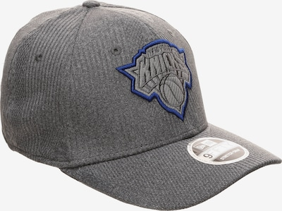 NEW ERA 9FIFTY NBA New York Knicks Training Series Snapback Cap in grau: Frontalansicht