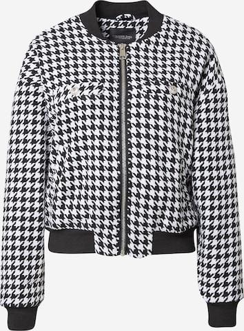 Colourful Rebel Between-Season Jacket 'Lizzy' in Black
