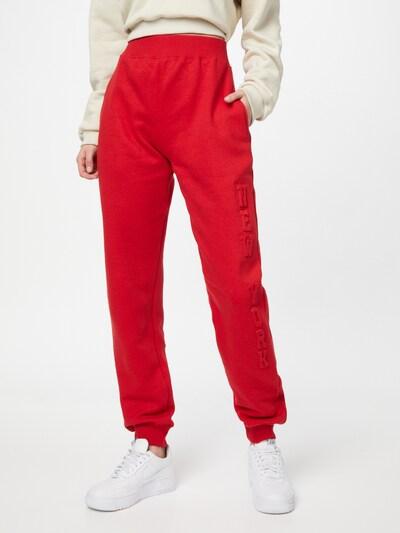 Public Desire Kalhoty - červená, Model/ka