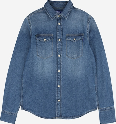 Jack & Jones Junior Hemd 'JJESHERIDAN JR NOOS' in blue denim, Produktansicht