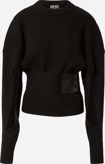 DIESEL Pullover 'M-SYLVANIA' in schwarz, Produktansicht