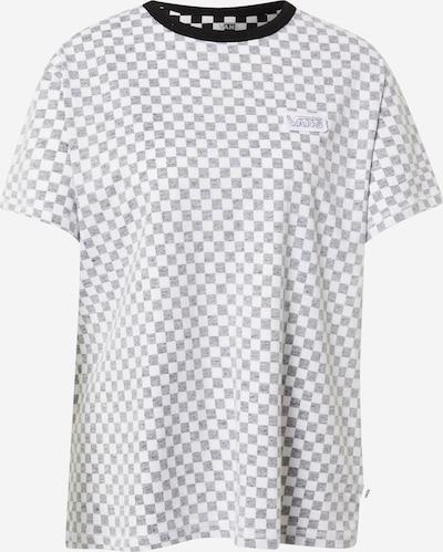 VANS Shirt 'Make me your own' in graumeliert / schwarz / weiß, Produktansicht