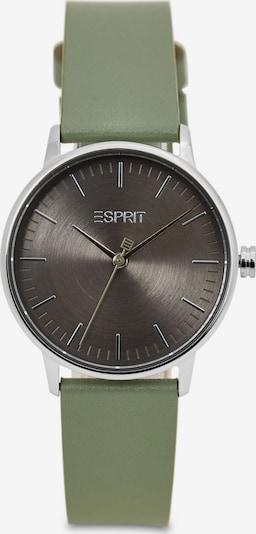 ESPRIT Uhr in bronze / oliv / silber, Produktansicht