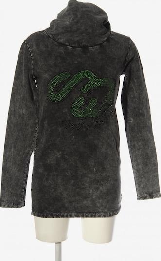 ONE GREEN ELEPHANT Longpullover in XS in grün / schwarz, Produktansicht