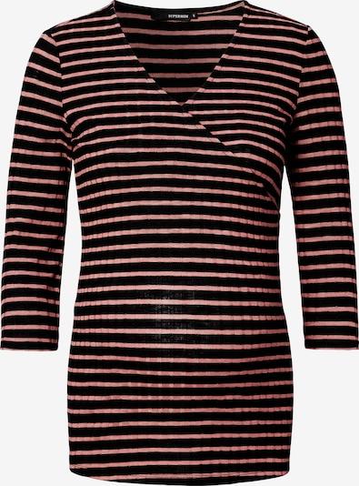 Supermom T-shirt en rosé / noir, Vue avec produit