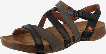 ART Strap Sandals in Black