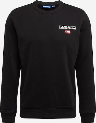 NAPAPIJRI Majica | črna / bela barva, Prikaz izdelka