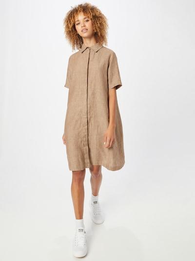 OPUS Kleid 'Welika' in braunmeliert, Modelansicht