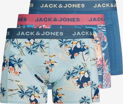Jack & Jones Junior Calzoncillo en azul / azul oscuro / amarillo / rosa / rosa, Vista del producto