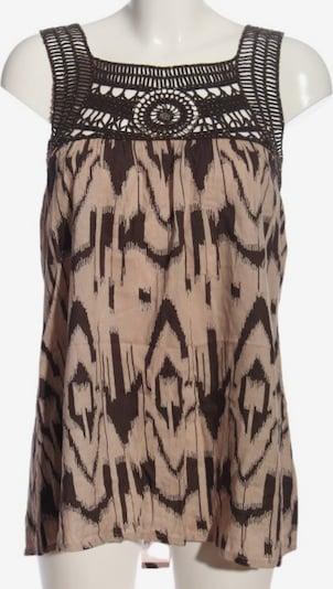 Deby Debo ärmellose Bluse in XS in creme / braun, Produktansicht
